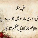 شبکہ علم جفر ۔ عربی ، فارسی ، اردو میں جواب دینے والا عظیم جفری شاہکار