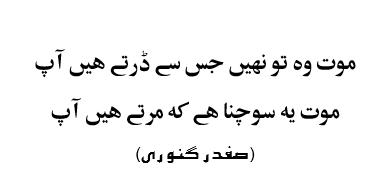 maut-woh-to-nahi-jis-se-dartay-hain-aap